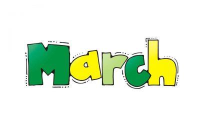 Agenda Bulan Maret